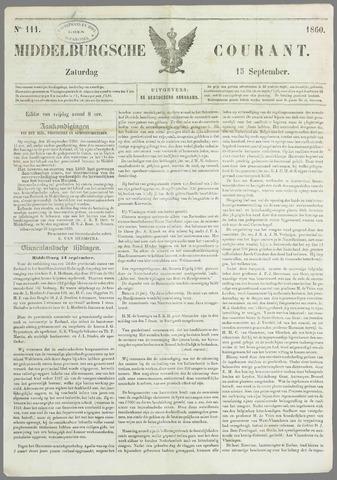 Middelburgsche Courant 1860-09-15
