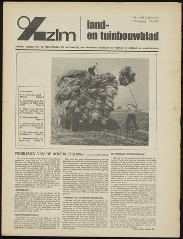 Zeeuwsch landbouwblad ... ZLM land- en tuinbouwblad 1970-07-15