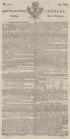 Middelburgsche Courant 1762-11-20