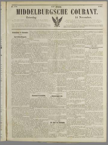Middelburgsche Courant 1908-11-14
