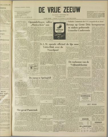 de Vrije Zeeuw 1958-11-03