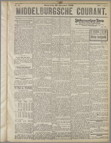 Middelburgsche Courant 1922-01-28