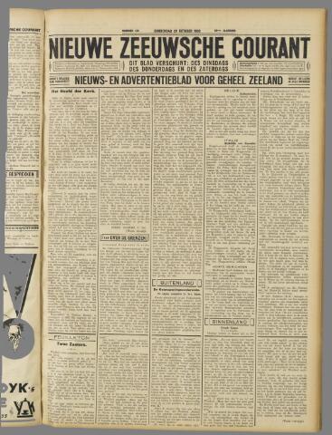 Nieuwe Zeeuwsche Courant 1932-10-20