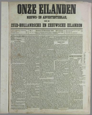Onze Eilanden 1914