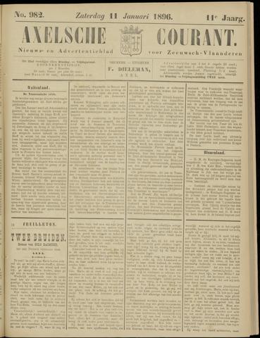 Axelsche Courant 1896-01-11