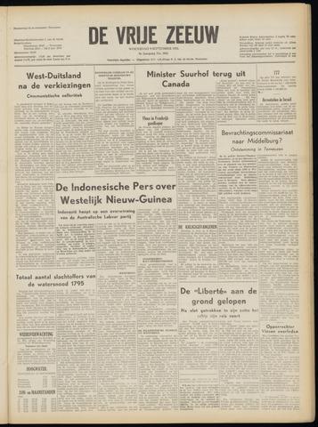de Vrije Zeeuw 1953-09-09