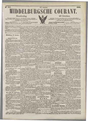 Middelburgsche Courant 1899-10-26