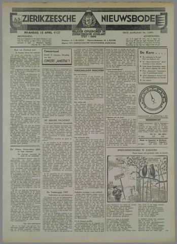Zierikzeesche Nieuwsbode 1937-04-12