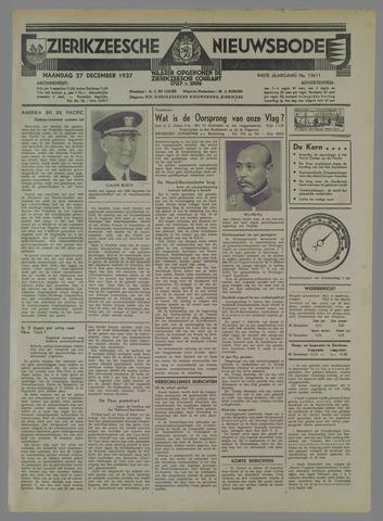 Zierikzeesche Nieuwsbode 1937-12-27