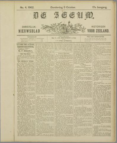 De Zeeuw. Christelijk-historisch nieuwsblad voor Zeeland 1902-10-09