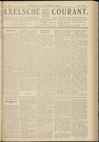 Axelsche Courant 1932-09-02