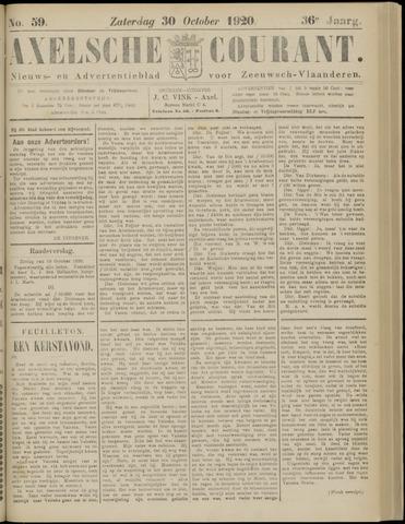 Axelsche Courant 1920-10-30