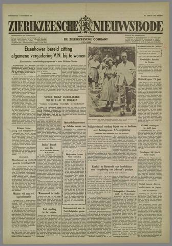 Zierikzeesche Nieuwsbode 1958-08-07