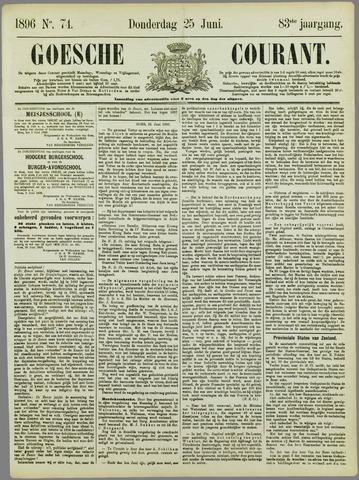 Goessche Courant 1896-06-25