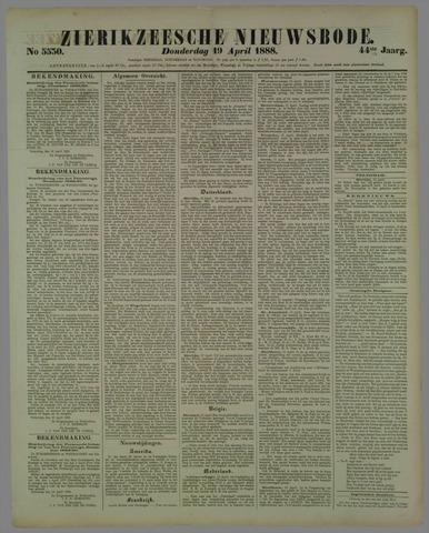 Zierikzeesche Nieuwsbode 1888-04-19