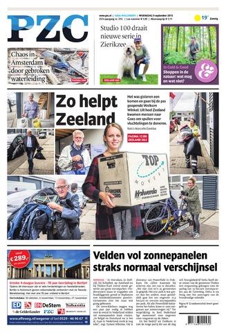 Provinciale Zeeuwse Courant 2015-09-09