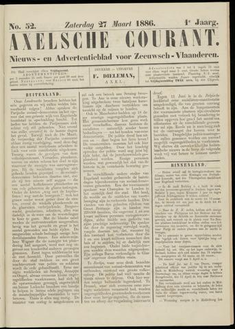 Axelsche Courant 1886-03-27