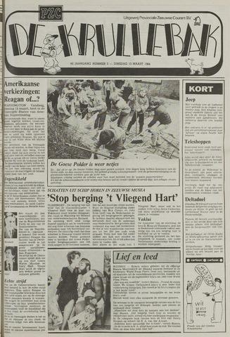 Provinciale Zeeuwse Courant katern Krullenbak (1981-1999) 1984-03-13