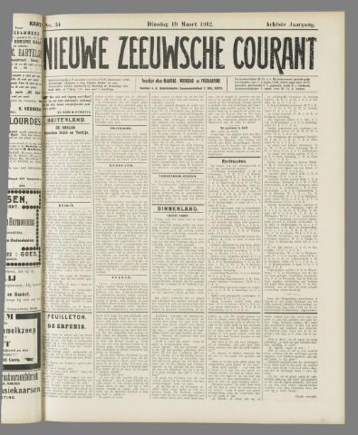 Nieuwe Zeeuwsche Courant 1912-03-19
