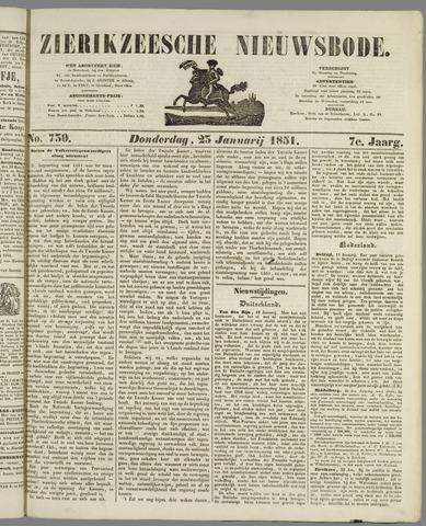 Zierikzeesche Nieuwsbode 1851-01-23