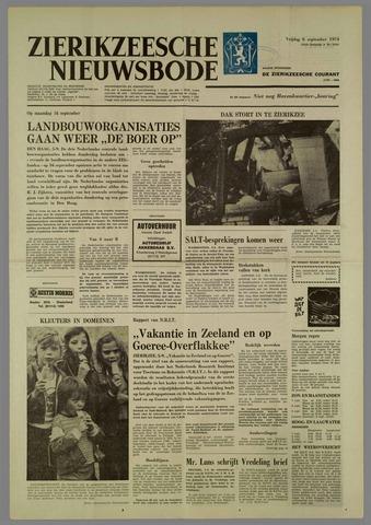 Zierikzeesche Nieuwsbode 1974-09-06