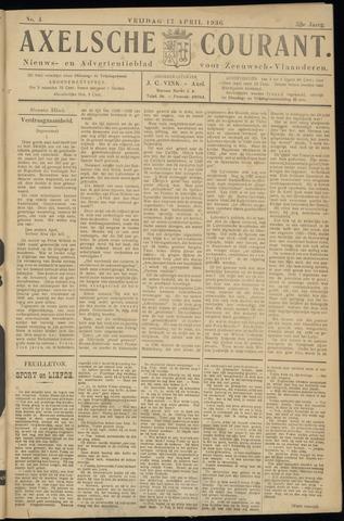 Axelsche Courant 1936-04-17