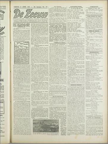 De Zeeuw. Christelijk-historisch nieuwsblad voor Zeeland 1944-04-21