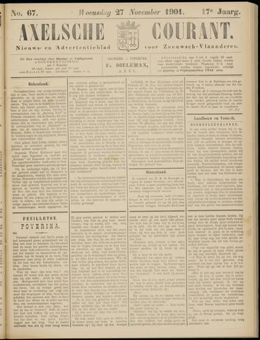 Axelsche Courant 1901-11-27
