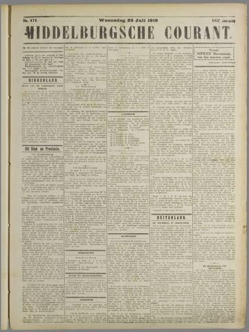 Middelburgsche Courant 1919-07-23