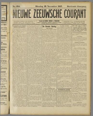 Nieuwe Zeeuwsche Courant 1917-11-13
