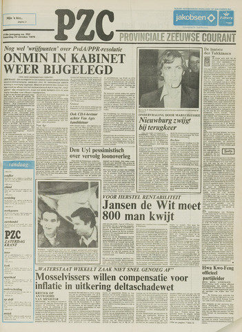 Provinciale Zeeuwse Courant 1976-10-23