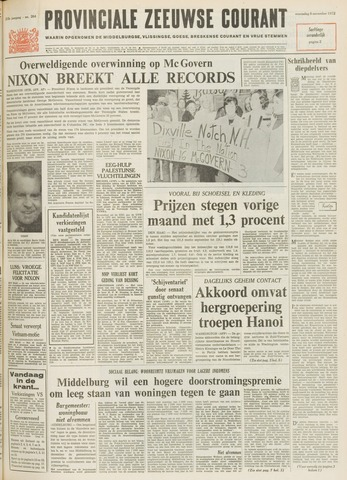Provinciale Zeeuwse Courant 1972-11-08