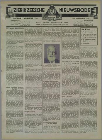 Zierikzeesche Nieuwsbode 1936-08-11