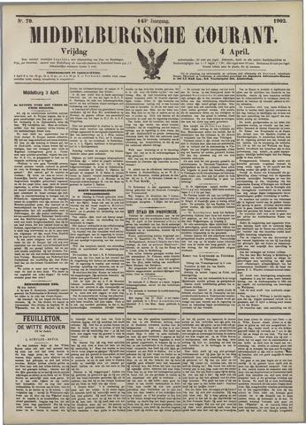 Middelburgsche Courant 1902-04-04