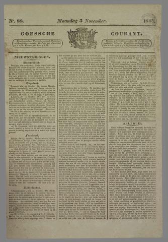 Goessche Courant 1845-11-03