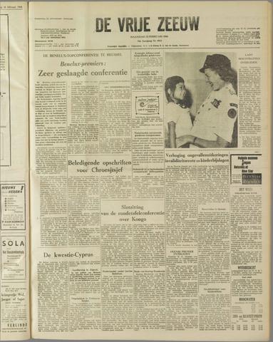 de Vrije Zeeuw 1960-02-22