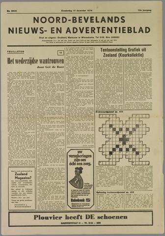 Noord-Bevelands Nieuws- en advertentieblad 1974-12-19