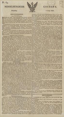 Middelburgsche Courant 1829-06-09