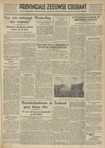 Provinciale Zeeuwse Courant 1950-02-02
