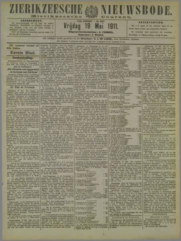 Zierikzeesche Nieuwsbode 1911-05-19