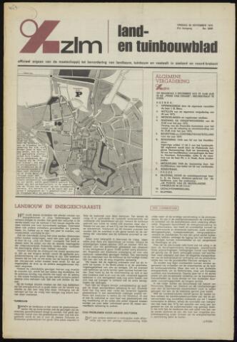Zeeuwsch landbouwblad ... ZLM land- en tuinbouwblad 1973-11-30