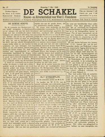 De Schakel 1945-05-07