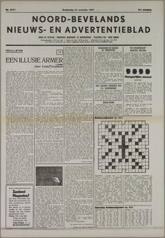 Noord-Bevelands Nieuws- en advertentieblad 1977-11-24