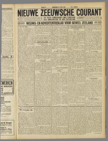 Nieuwe Zeeuwsche Courant 1934-04-26