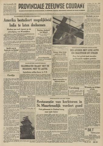 Provinciale Zeeuwse Courant 1953-10-30