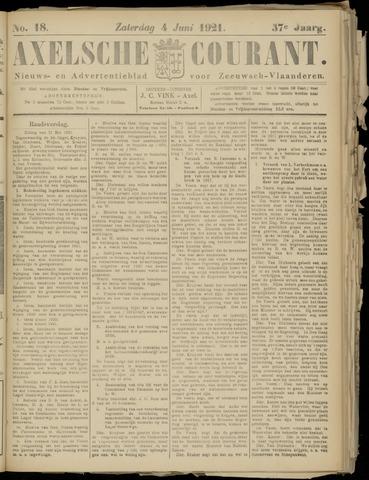 Axelsche Courant 1921-06-04