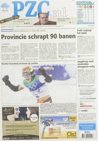 Provinciale Zeeuwse Courant 2010-02-27