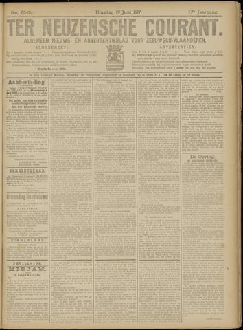 Ter Neuzensche Courant. Algemeen Nieuws- en Advertentieblad voor Zeeuwsch-Vlaanderen / Neuzensche Courant ... (idem) / (Algemeen) nieuws en advertentieblad voor Zeeuwsch-Vlaanderen 1917-06-19