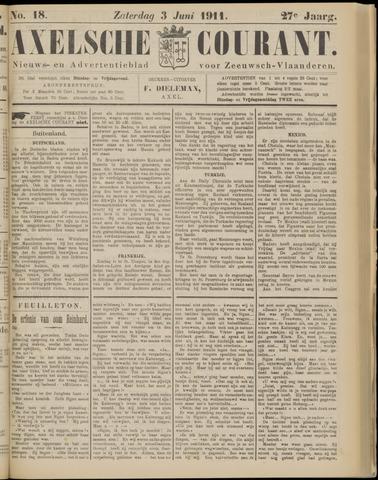 Axelsche Courant 1911-06-03