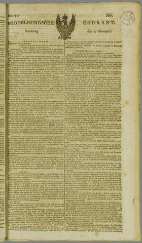 Middelburgsche Courant 1817-11-27
